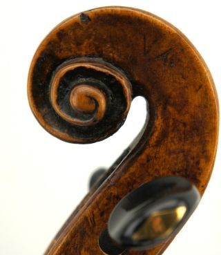 Very Old And Interesting18th Century Violin,  Grafted Scroll,  Ready - To - Play photo
