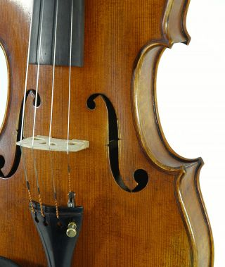 Fine Italian Violin Labeled Stephano Pacchiarini C.  2002 4/4 Old Antique Violino photo