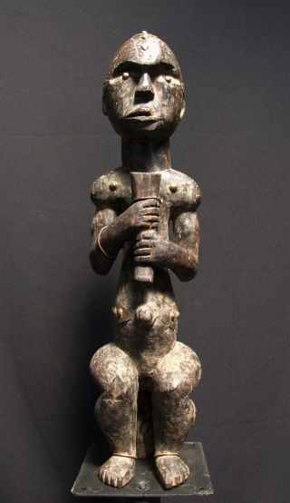 African Tribal Fang Reliquary Figure - - - - Tribal Eye Gallery - - - - - photo