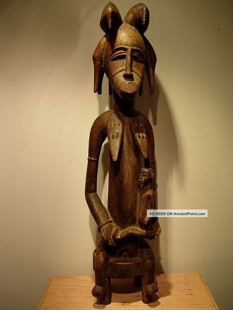 Collectable / Old Senufo Ancestor Figure,  Drc Sculptures & Statues photo