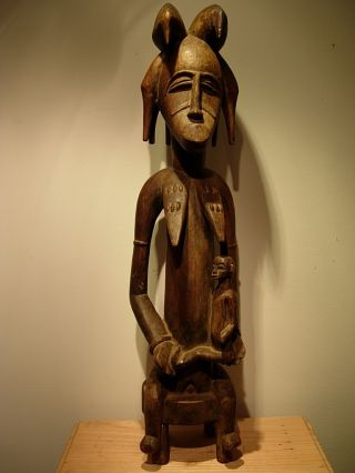 Collectable / Old Senufo Ancestor Figure,  Drc photo