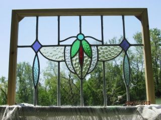 Antique Stained Glass Window 21