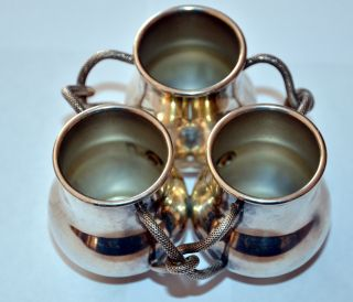 Vintage Andover Hall Triple Toothpick Holder /condiments Epc 620 photo