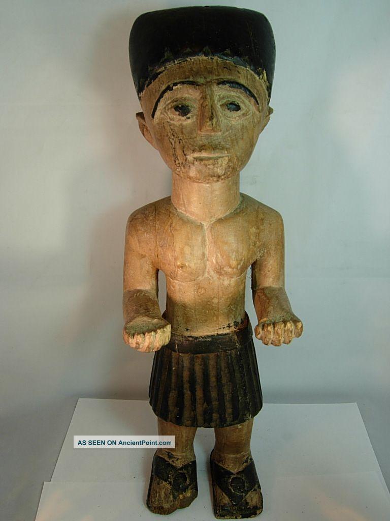 Rare Ashanti Ancestral Shrine Figure,  Ghaha Sculptures & Statues photo
