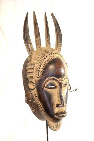 Guro /yaure Mask From Ivory Coast photo