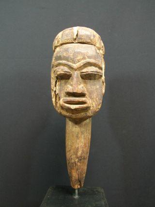 African Tribal Lobi Carved Wooden Head - - - - - - - - - - Tribal Eye Gallery - - - - - - - - - photo