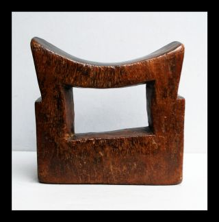 An Immaculate Headrest With Extremely Good Patina From Ethiopia photo