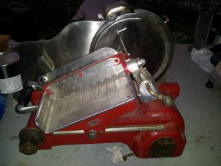 Antique Berkel Meat And Cheese Slicer photo