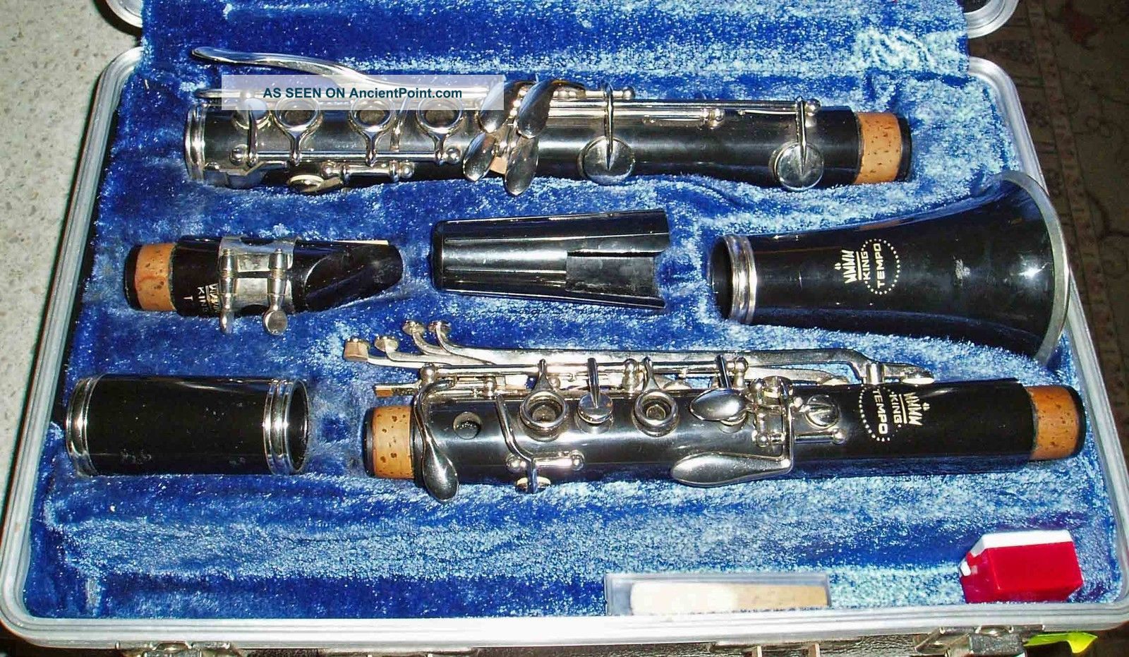 Vintage 80 ' S Germany King Tempo Student Clarinet Musical Instrument With Case Musical Instruments (Pre-1930) photo
