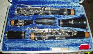 Vintage 80 ' S Germany King Tempo Student Clarinet Musical Instrument With Case photo