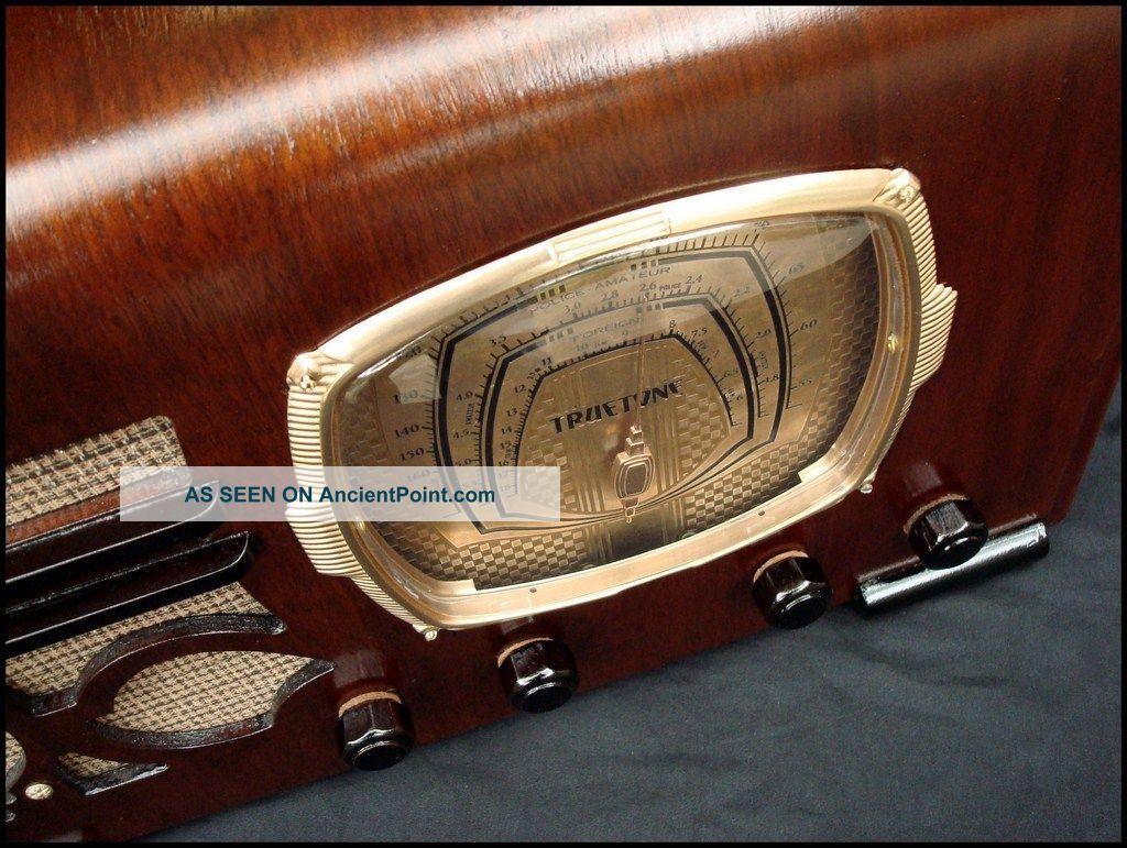 vintage truetone radio