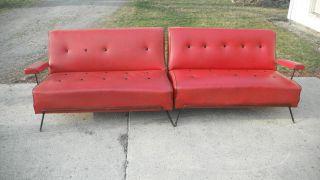 Mid - Century Adrian Pearsall Atomic Sofa Eames Grossman Knoll Mccobb photo