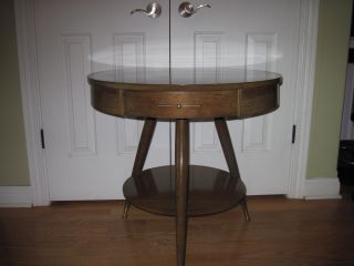 Vintage Mersman Round Table photo
