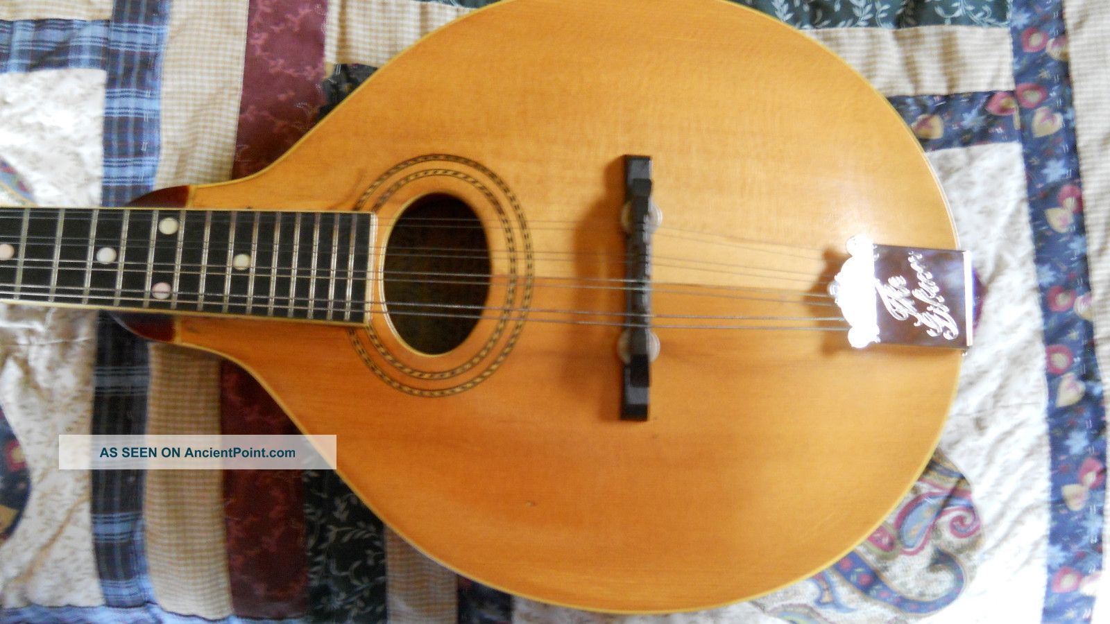Gibson 1917 A1 Mandolin Solid Player String photo