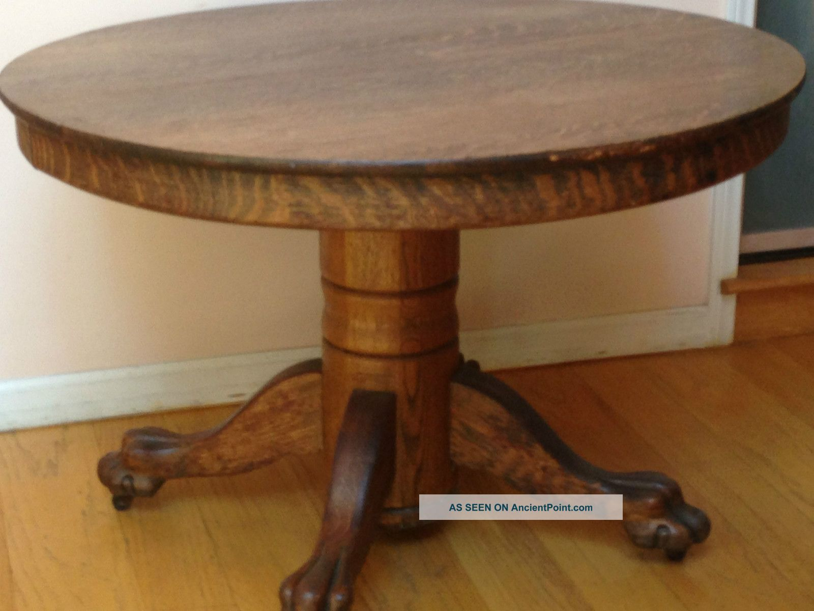 antique claw foot table value furniture table styles