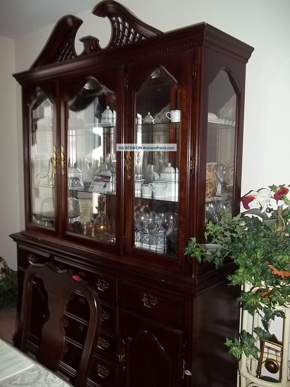 impressive cherry dining room sets with china cabinet 960 x 1280