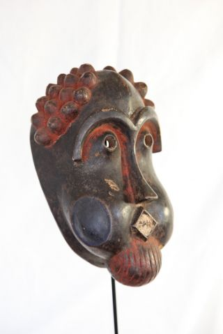 A Rare And Delightful Bangwa Queen Mask From Cameroon photo