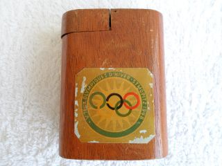 Russia Athletic Advertising Box Dated 1948 In photo