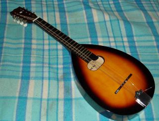 American 8 Stringed Belmont Mandolin Guitar Never V.  Working photo