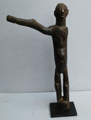 An Artistic Lobi With One Arm Out From Burkina Faso photo