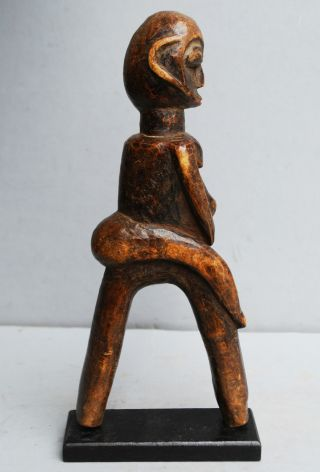 A Fantastic Figurative Catapult From Thelobi Tribe Of The Ivory Coast photo