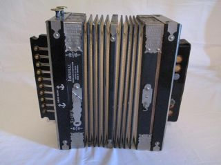 Museum Quality 1890 ' S Kaleb ' S Imperial Accordeon Made In Germany - None Finer photo
