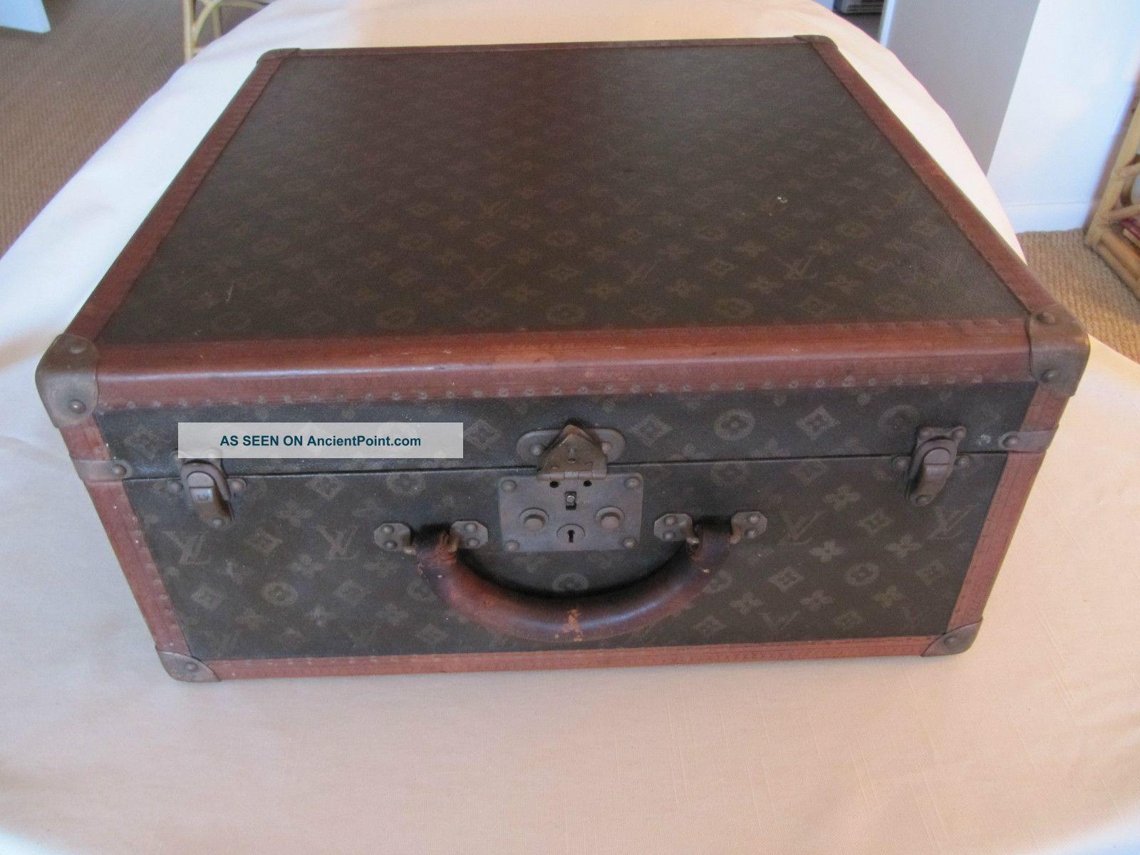 Louis Vuitton Travel Trunk 1900-1950 photo