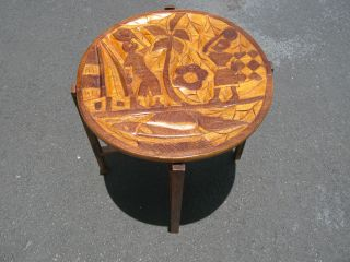 Antique Small Table. photo