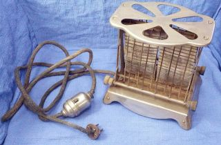 Antique Westinghouse E.  8m.  C0 Turnover Toaster With Perkins Switch photo
