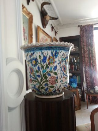 A Huge Islamic Kutahya Vase photo