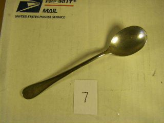 Gilchrist - Antique Silver Plate - Flat Ware - Spoon - 7 (dim L 5 1/8