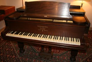 Steinway Grand Piano 6 Foot Model A 1886 Plays Good 85 Key Good Pick For Rebuild photo