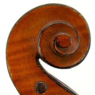 Excellent Antique French Violin - J.  Didelot C.  1925 Big,  Tone photo