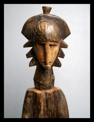 A Fantastic Janus Altar Figure From The Bozo Tribe Of Mali photo