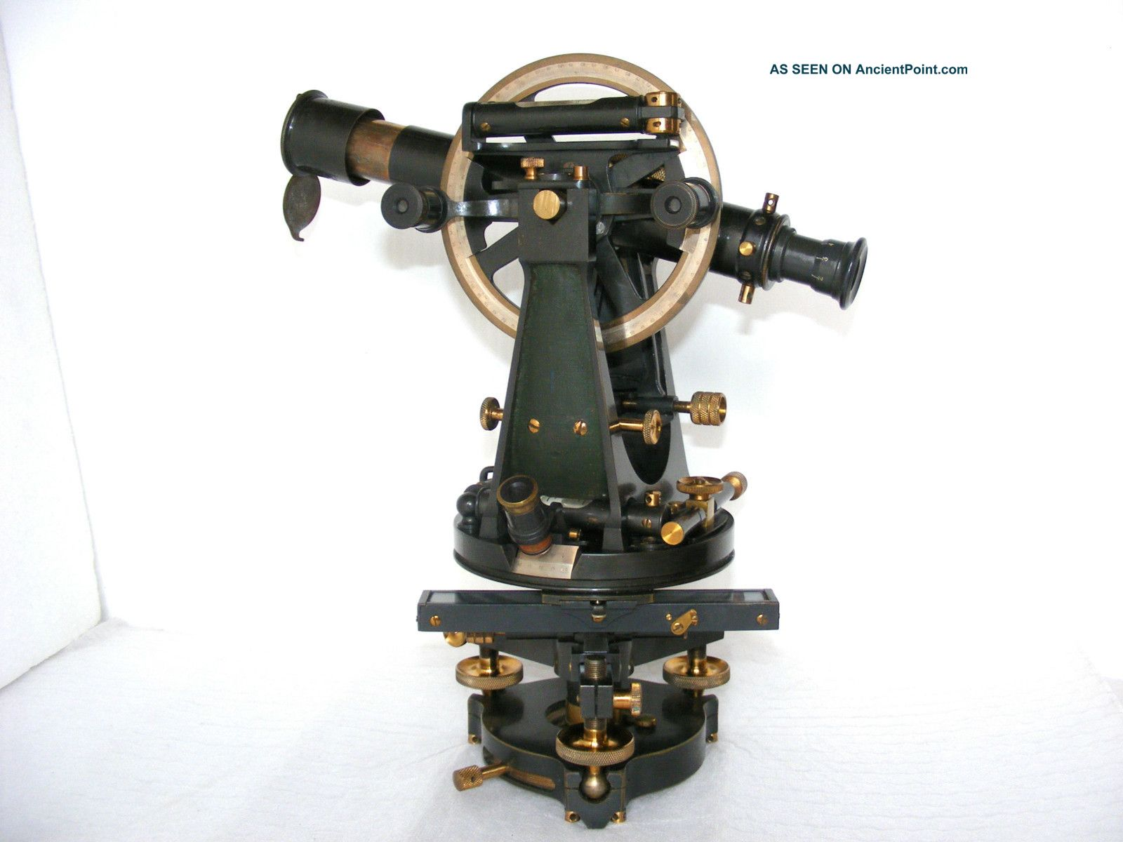 Transit Theodolite,  No.  22133 By Stanley In Case,  Early 1900s. Other photo