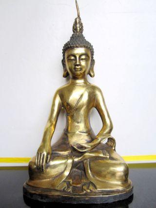 Tibet Shakyamuni Buddha Tibet Bronze Statue photo