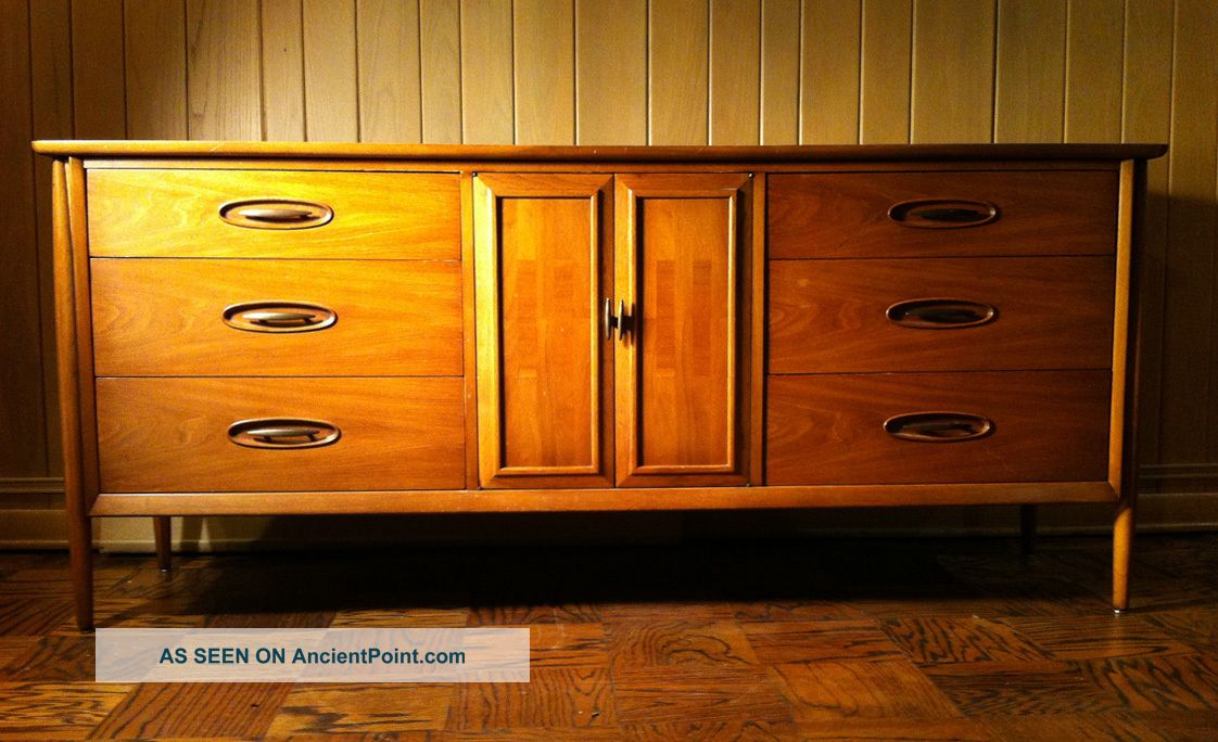 Danish Modern Style Sideboard Cabinet Eames Gibbings Dunbar Post-1950 photo