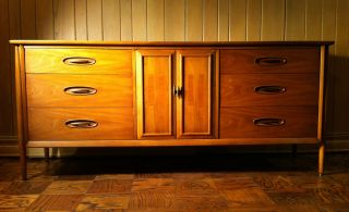 Danish Modern Style Sideboard Cabinet Eames Gibbings Dunbar photo