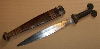 Cameroun Old African Knife Ancien Couteau Kirdi Afrika Kongo Africa D ' Afrique photo