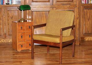 Vintage Mid Century Modern Bentwood Stow Davis Wood Arm Side Chair photo