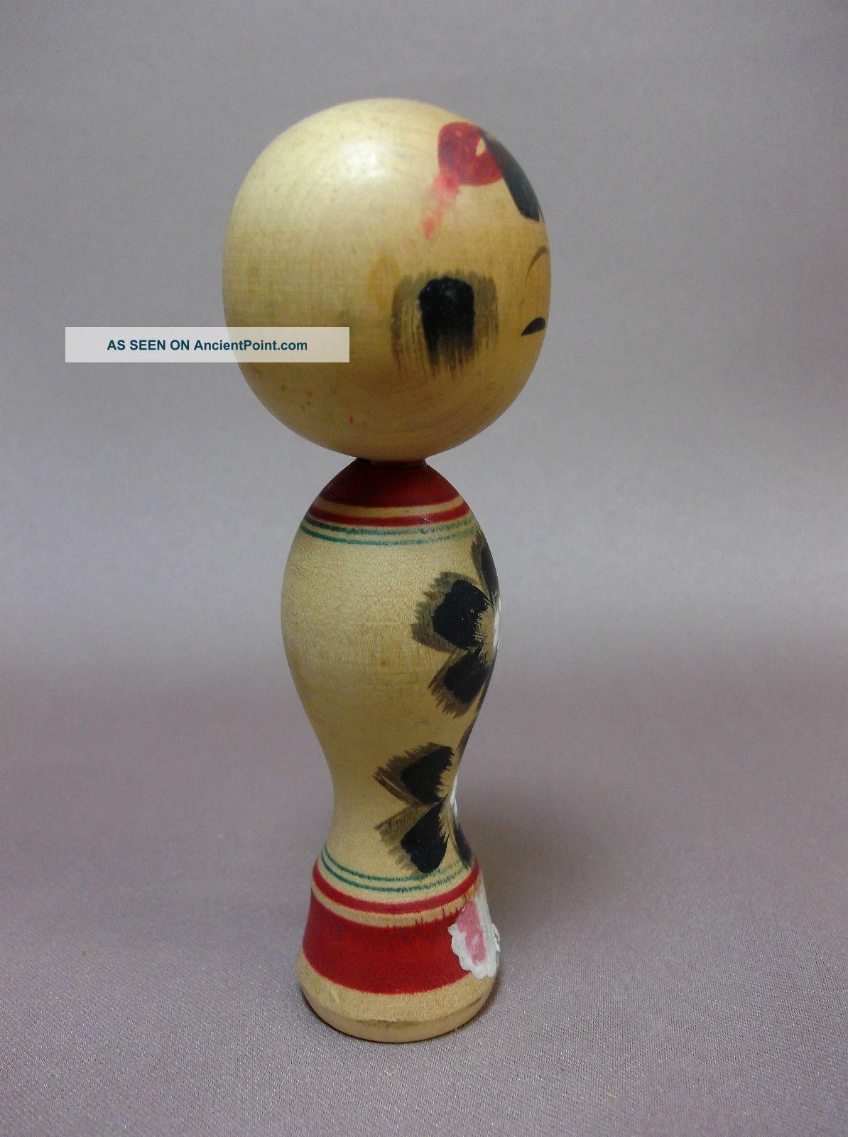 Vintage Wooden Dolls Kokeshi
