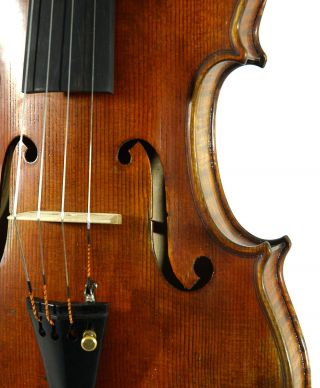 Amazing Italian Violin By Nicola Ponti C.  1999 4/4 Old Antique.  Violino photo