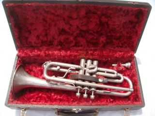 1927 Pan American Conn 90a Cavalier Cornet W Rudy Muck Mouthpiece Case photo