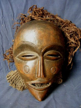 Old African Chokwe Pwo Mask With Provenance photo