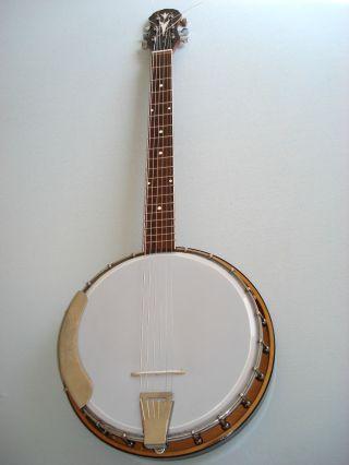 German Guitar Banjo Ca.  1960 photo