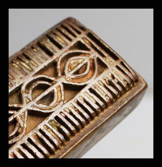 An Extra Large 18thc Akan Gold Weight Ex European Collectn photo