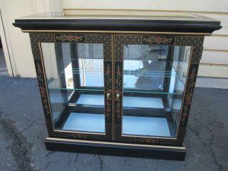 51719 Oriental Pulaski Curio Cabinet Server photo