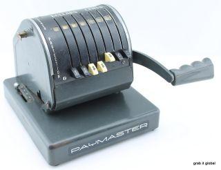 1962 Paymaster X - 900 Check Writing Machine photo