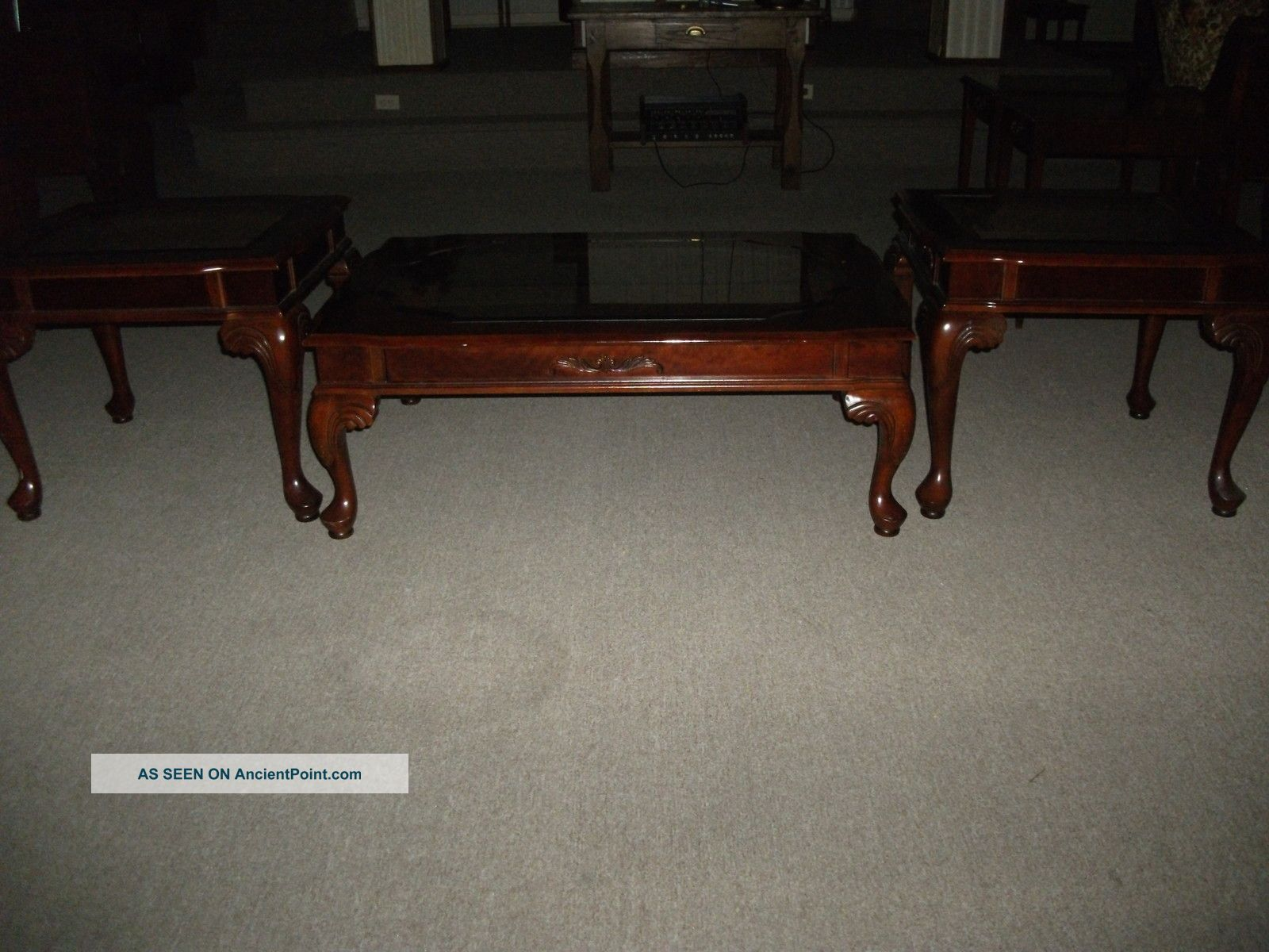 Stunning Home Room Decor Mahogany Queen Anne Coffee & End Tables 1800-1899  1600 x 1200 · 247 kB · jpeg