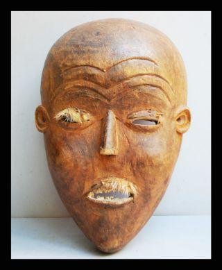 An Expresssive Mask From The Mbunda Tribe Of Angola photo